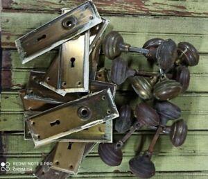 Eight sets Vintage Mortise Door Locks