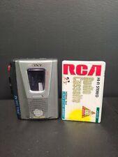 Sony Cassette Recorder ~ TCM-20DV ~ Handheld Clear Voice ~ VOR ~ 2x Record Time