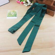 Lady Satin Skinny Scarf Extra Long Thin Belt Sash Ribbon Choker Neck Tie Elegant