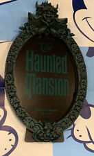 Haunted Mansion Ghosts Tomb Sweet Tomb Oval Picture Frame Disney Parks New!