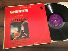 """AARON ROSAND Plays Sarasate. VOX (Stereovox) STPL 512 760 """"RVG"""" NM Play"""