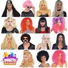 Halloween Fancy Dress Costume Straight Curl Wigs Lot