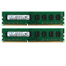 4GB 8GB For Samsung DIMM DDR3 1RX8 PC3-10600U 240PIN 1333MHZ Desktop RAM Memory