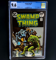 SWAMP THING #6 (DC 1973) 💥 CGC 9.6 💥 Len Wein Story, Wrightson Art! 1st Series