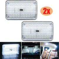 2PCS 36 LED Auto Car Dome Interior Bulb Roof Ceiling Light Lamp White 12V
