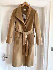 NEXT Camel Coat Belted Front Pockets NEW Size 6 /8? £78 💕 Brown Zara