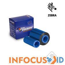 Zebra Monochrome Ruban Bleu 800015-104 : Zebra P3-series/P4-series/P5-series