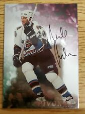 1998-99 Be A Player Autographs #150 Michal Pivonka