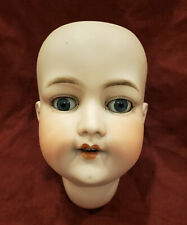 Large Antique German Bisque Doll Head Armand Marseille 390n