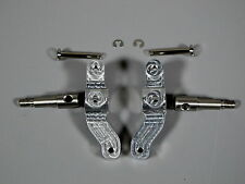 Pair Aluminum Steering Knuckle Arm w/ Upright Shaft Any Tamiya 1/14 Semi Truck