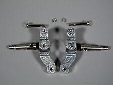 Pair Aluminum Steering Knuckle Arm w/ Upright Shaft Any Tamiya 1/14 Semi Truck