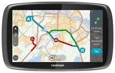 "NEW TomTom Go 510 5"" GPS Sat Nav System WORLD MAPS Traffic Free Lifetime Updates"