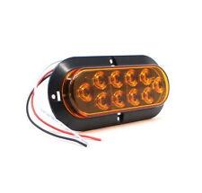 2X Gelb Pkw Anhänger LED Bremslicht Lampe Seitenmarkierung Rücklicht Universal