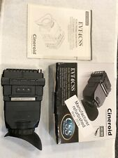 Cineroid EVF4 CSS electronic viewfinder HD-SDI Loop Out Excellent Condition