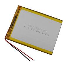 3.7V 3500 mAh Polymer Li-ion Lipo battery for ipod GPS iPAQ PSP Tablet PC 357090