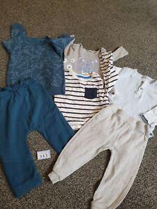 Baby Boys 9-12 Months Clothes Bundle (B343)
