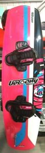 wakeboard velocity crystal 134 cm + small / med bind,blemish