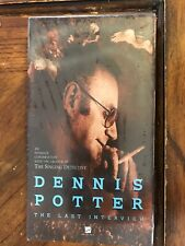 Dennis Potter - The Last Interview [VHS] Very Very Rare (New)