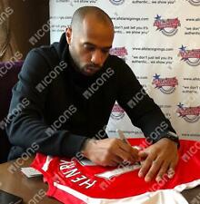 Thierry Henry Genuine Hand Signed Arsenal Shirt Autograph Jersey COA