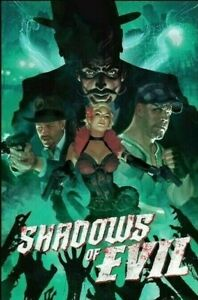 Call of Duty Black Ops 3 Adam Hughes Shadows of Evil Limited Edition Poster Art