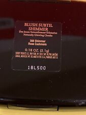 Lancome Blush Subtil Shimmer Rose Cahmere With Pouch