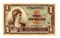 United States MPC ... P-M33 ... 1 Dollar ... Serie521(195) ... *AU*