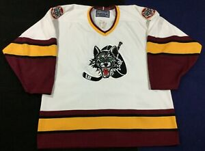 Chicago Wolves Ice Hockey AHL Bauer Jersey SizeM