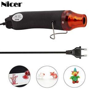 Mini DIY Heat Gun elektrische Düsen Werkzeug Heißluftpistole Farbe EU plug