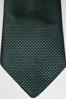 MARKS & SPENCER Mens Green 100% Polyester Tie
