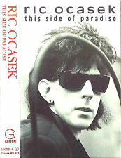 RIC OCASEK THIS SIDE OF PARADISE CASSETTE ALBUM THE CARS NEW WAVE ROCK SYNTH-POP