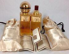 2 VINTAGE Rochas Audace 0.75 oz Parfum  De Toilette 90 Degrees Made In France