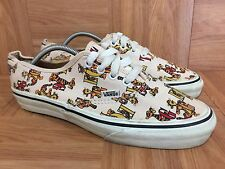 Cute❤️ VANS x Disney Tigger Print Made In USA 9.5 Women's Pooh Bear Vintage 90's