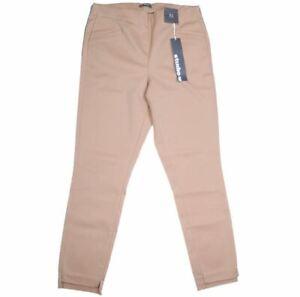 STUDIO.W Women`s High Waisted Pants. Size 16, Colour: Beige  (G93)