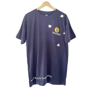 FOSTERS Australia's Famous Beer T-Shirt BNWT Size L