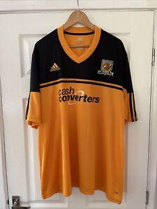 Hull City Home Football Shirt. Season 2012/13. Size 3XL Adidas