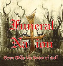 """Funeral Nation,""""Open Wide the Gates of Hell"""" Official-NEW cd,,Signed by the band"""