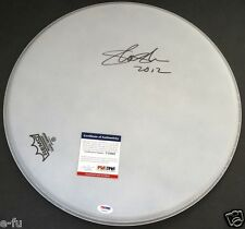 "SLASH Signed 16"" Drum Head Auto Guns N' Roses PSA/DNA Certified Autograph GNR"