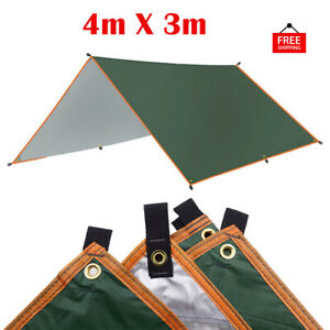 4x3m Camping Tent Canopy Beach Family Outdoor Lightweight Waterproof Shelter