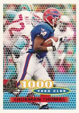 1996 Topps FB Buffalo Bills Team Set Eric Moulds RC-17 Cards