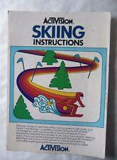 59380 Instruction Booklet - Skiing - Atari 2600 / 7800 (1980)