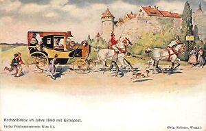 Hochzeitsreise im Jahre 1840 mit Extrapost ngl 161.117