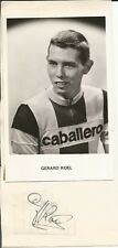 Cyclisme, ciclismo, radsport, wielrennen, cycling, GERARD KOEL signé