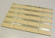 20 Personna GEM Stainless Steel Coated Single Edge SE SHAVING Razor blades USA