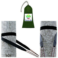 HAMMOCK BLISS TREE STRAPS - HANG YOUR HAMMOCK WITH EASE - TREE FRIENDLY 85 GRAMS