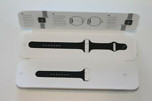 GENUINE Apple Watch 44/42mm Sport Band MTPL2AM/A - Black OPEN BOX