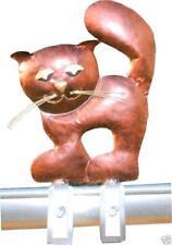 Chat Figurine en Métal Bijoux de Toit pour la Gouttière 30 CM