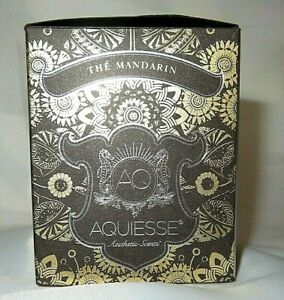 AQ Aquiesse THE MANDARIN 6oz Candle Hard To Find Scent NEW
