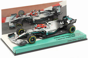 L. Hamilton Mercedes-AMG F1 W10 #44 Monaco GP F1 Weltmeister 2019 1:43 Minichamp