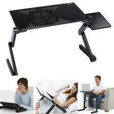 New Style Laptop Adjustable Folding Desk Table Stand Bed Tray with Cooling Fan