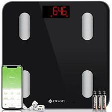 Etekcity Bluetooth Body Fat Scales, Digital Weight Bathroom Scales